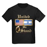 US & Israel United Kids Dark T-Shirt