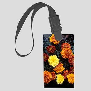 French marigold (Tagetes patula) Large Luggage Tag