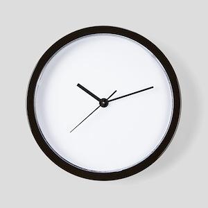 gotYourBack3B Wall Clock