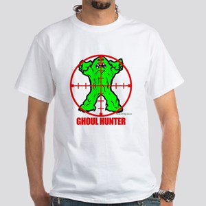 White Ghoul Hunter T-Shirt