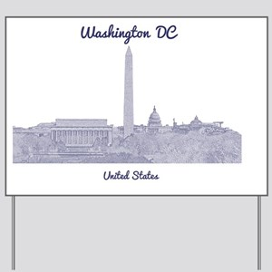 WashingtonDC_8In12_button_Blue Yard Sign