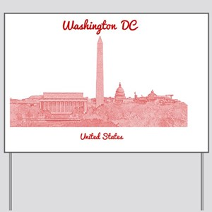 WashingtonDC_8In12_button_Red Yard Sign