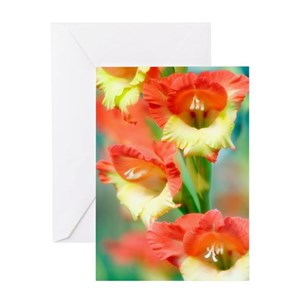 Gladiolus stationery cafepress mightylinksfo