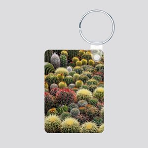 Cacti Aluminum Photo Keychain