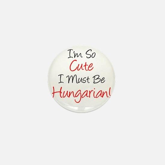 Im So Cute Hungarian Mini Button