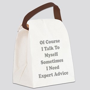 expAdvice1C Canvas Lunch Bag