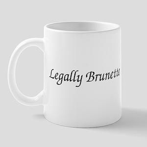 Legally Brunette Mug