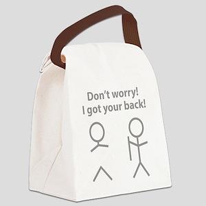 gotYourBack3C Canvas Lunch Bag