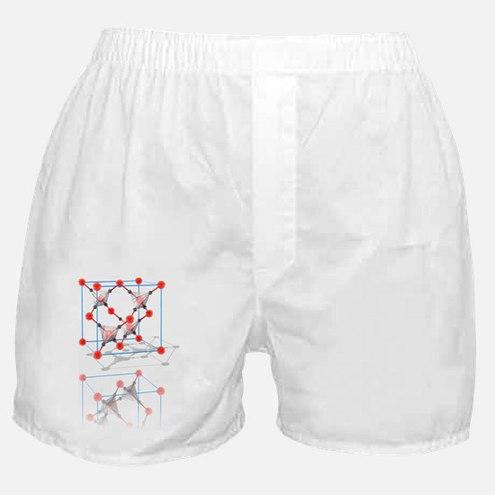 Cristobalite crystal structure Boxer Shorts