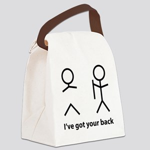 gotYourBack2A Canvas Lunch Bag