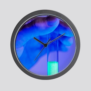 Fluorescent chemical Wall Clock