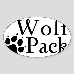 wolfpack Sticker (Oval)