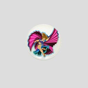 Big-n-Beautiful Winged dancer fair com Mini Button