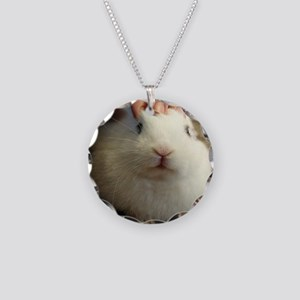 January - Bunny Bliss Necklace Circle Charm