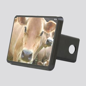 Jersey Cow Face Rectangular Hitch Cover
