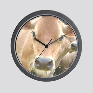 Jersey Cow Face Wall Clock