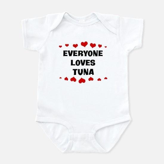 Loves: Tuna Infant Bodysuit