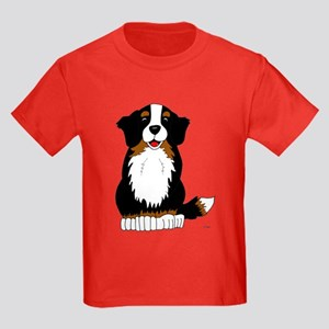 Bernese Mountain Dog Kids Dark T-Shirt