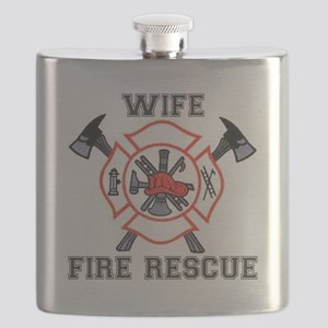 Fire Fighters Wife Flask