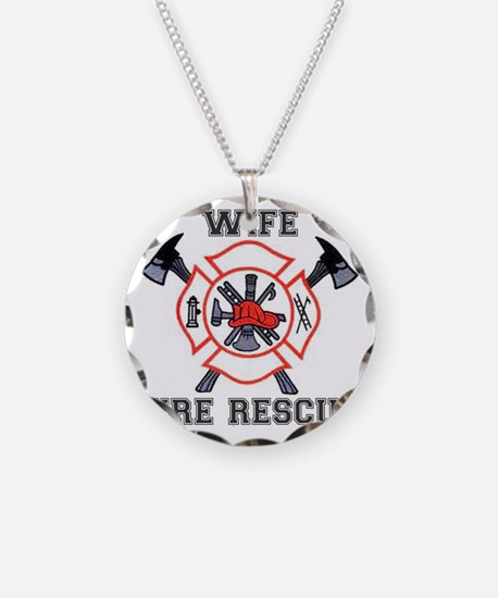 Fire Fighters Wife Necklace