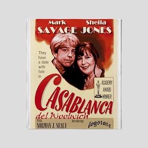 Casablanca del Woolwich Throw Blanket