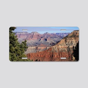 Grand Canyon 1115a Aluminum License Plate