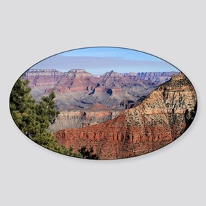 Grand Canyon 1115a Sticker (Oval)