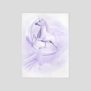 Flying Pegasus 5'x7'Area Rug