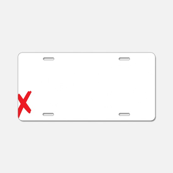 Meets/exceeds expectations Aluminum License Plate