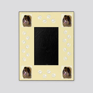 Pomeranian (Black and Tan) Picture Frame