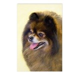 Pomeranian (Black and Tan Postcards (Package of 8)