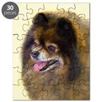 Pomeranian (Black and Tan) Puzzle
