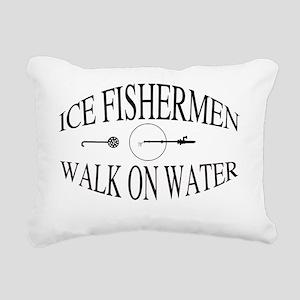 Walk on water Rectangular Canvas Pillow