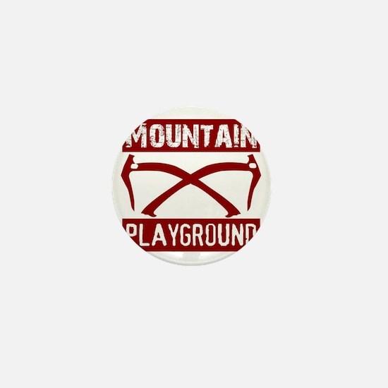 Mountain Playground Mini Button