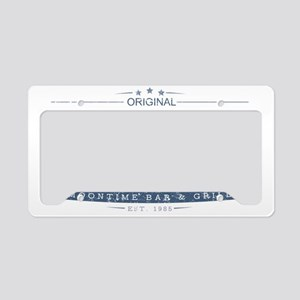 MoonTime Bar and Grill License Plate Holder