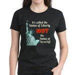 Liberty, Not Security Women's Dark Tee