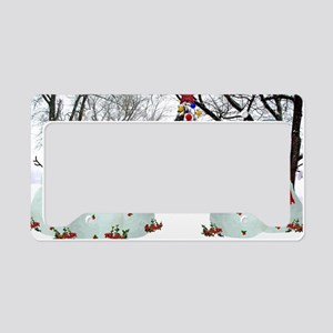 snowdogs License Plate Holder