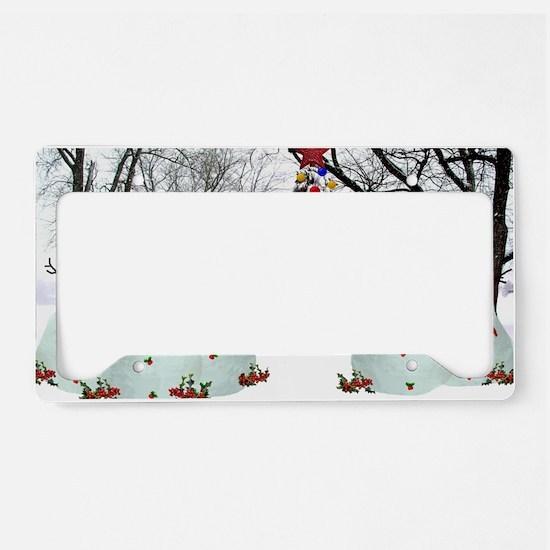 snowdogs License Plate Holder