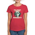 Barking Liberal Moonbat Women's Dark Tee
