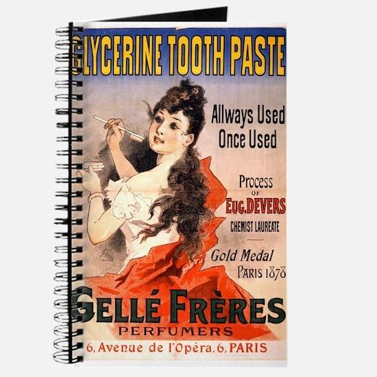 Glycerine Tooth Paste - Jules Cheret - 1889 - post
