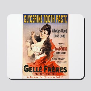 Glycerine Tooth Paste - Jules Cheret - 1889 - post