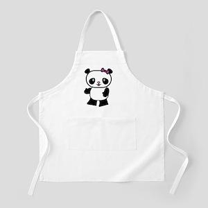 Girl Panda Apron