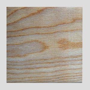 Unique Wood Grain Pattern Designer Tile Coaster
