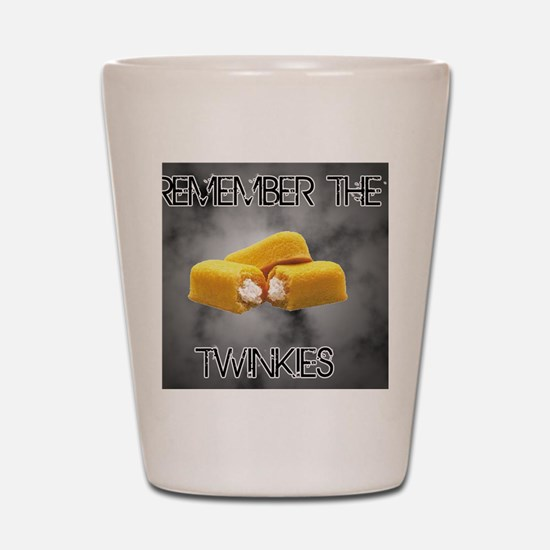 Remember The Twinkies Shot Glass