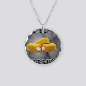 Remember The Twinkies Necklace Circle Charm