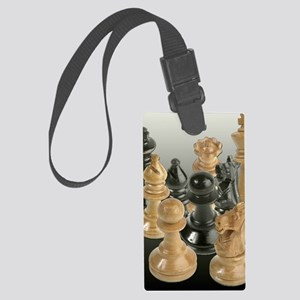 A Gathering of the Chessmen Large Luggage Tag