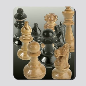 A Gathering of the Chessmen Mousepad