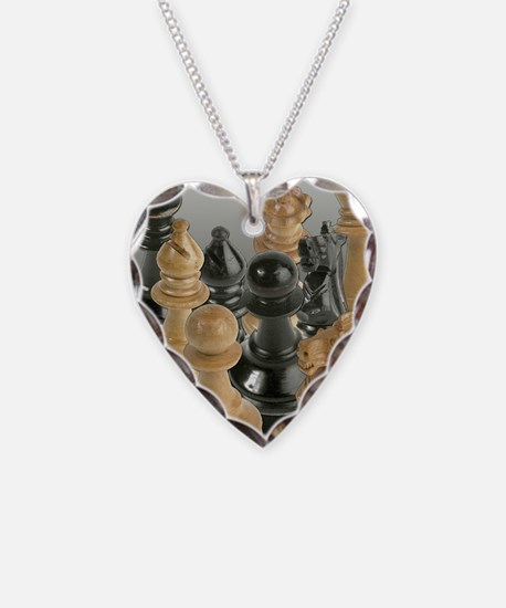 A Gathering of the Chessmen Necklace