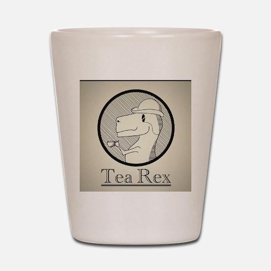 Tea Rex Shot Glass