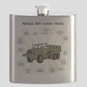 M35A2 Cargo Truck Flask